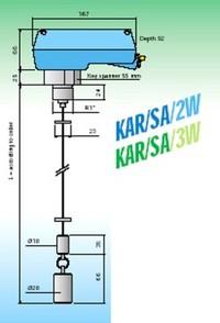 Seilsonde KAR-SA-3W für NH3