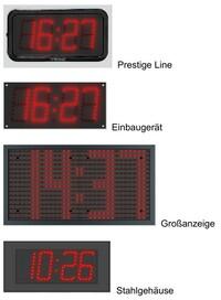 Digitaluhr ZA-ZB mit Fernbedienung